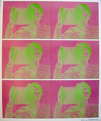 Bruce Nauman Untitled Hologram 1969