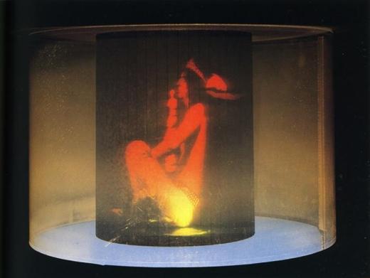 Salvador Dali Hologram