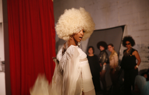 Carrie Mae Weems Afro Chic