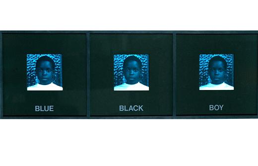 Carrie Mae Weems Blue Black Boy